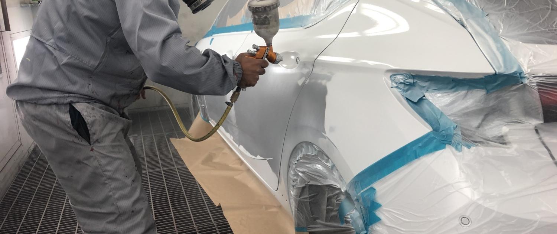 Standing Man - Spray Painting