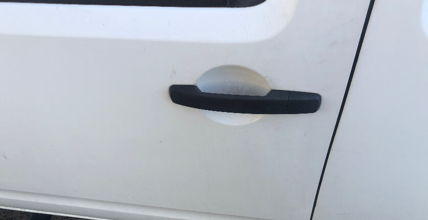 Nissan Navarra NP300 Tail Light Trims Auto Flare Before and After